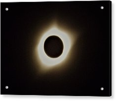 Windy Corona During Eclipse Acrylic Print