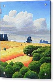 Windy Hill Triptych IIi Acrylic Print