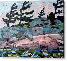 Windy Island Acrylic Print