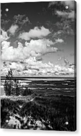 Acrylic Print featuring the photograph Windy Morning On Lake Michigan by Michelle Calkins
