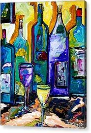 Wine And Spirit Acrylic Print