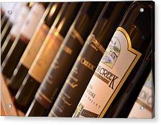 Wine Bottles Acrylic Print