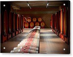 Wine Cellar In Montalcino Acrylic Print