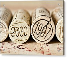 Wine Corks Acrylic Print by Frank Tschakert