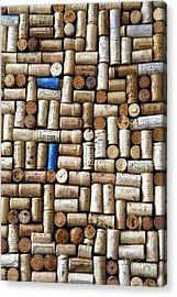 Wine Corks Acrylic Print by Georgia Fowler