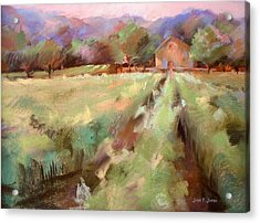 Wine Country 2 Acrylic Print by Joan  Jones