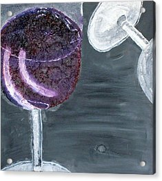 Wine From The Vine To The Glass Acrylic Print