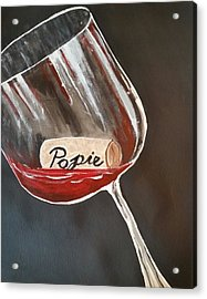 Wine Glass Acrylic Print