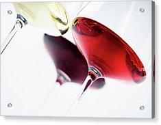Wine Glass Acrylic Print by Jelena Jovanovic