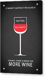 Wine Glasses 1 Acrylic Print