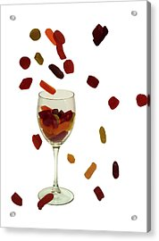 Acrylic Print featuring the photograph Wine Gums Sweets by David French