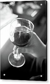 Wine In Hand Acrylic Print