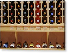 Acrylic Print featuring the photograph Wine Rack - 1 by Nikolyn McDonald