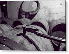 Wine Storage Acrylic Print by Georgia Fowler