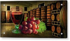 Acrylic Print featuring the photograph Wine Tasting by Hanny Heim