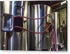 Wine Vats In Bordeaux Acrylic Print by Georgia Fowler