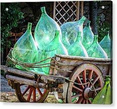 Wine Vats Acrylic Print by Marla Hunt