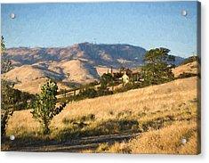 Winery At Ashland Oregon Acrylic Print by Kenneth Roberts