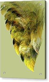 Winged Acrylic Print by Bonnie Bruno