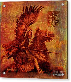 Winged Hussar 2016 Acrylic Print
