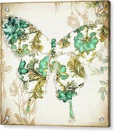 Winged Tapestry I Acrylic Print