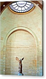 Winged Victory Of Samothrace Louvre Acrylic Print