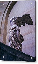 Winged Victory Of Samothrace Acrylic Print by Pati Photography