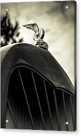 Winged Wheel Acrylic Print by Caitlyn Grasso