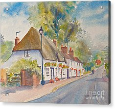 Acrylic Print featuring the painting Wingham Nr.canterbury by Beatrice Cloake