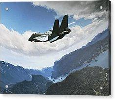 Wingman View Acrylic Print