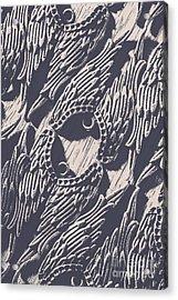 Wings Of Classical Artform Acrylic Print