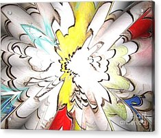 Wings Of Dreams Acrylic Print