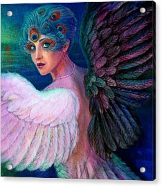 Wings Of Duality Acrylic Print by Sue Halstenberg