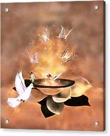 Wings Of Magic Acrylic Print