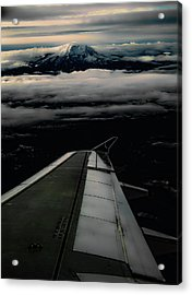 Wings Over Rainier Acrylic Print