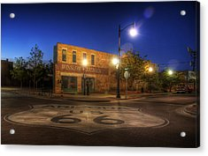 Winslow Corner Acrylic Print by Wayne Stadler