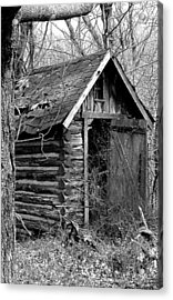 Winslowouthouse Acrylic Print by Curtis J Neeley Jr