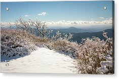 Winter Above The Land Acrylic Print