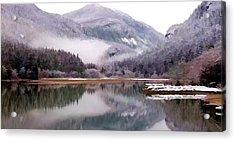 Winter At Diablo Lake Acrylic Print