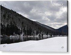 Winter At Kettle Creek Acrylic Print