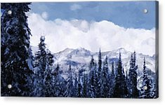 Winter At Revelstoke Acrylic Print