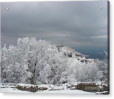 Winter At Shipka Acrylic Print by Iglika Milcheva-Godfrey