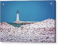 Winter At Sodus Point  Acrylic Print
