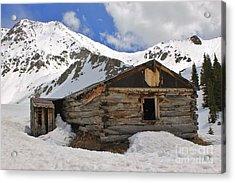 Winter At The Boston Mine 2 Acrylic Print