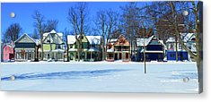 Winter At Ti Park Acrylic Print