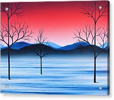 Winter Beckons Acrylic Print