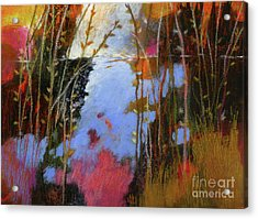 Winter Begins No. 3 Acrylic Print by Melody Cleary