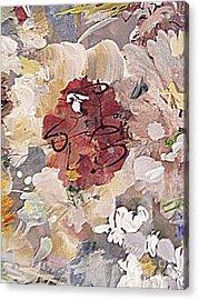 Winter Bouquet Acrylic Print by Nancy Kane Chapman