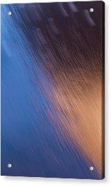 Winter Canyon Blues Acrylic Print