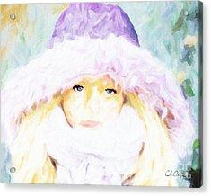 Winter  Acrylic Print by Chris Armytage